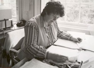 Mairi Robinson, editor of the Concise Scots Dictionary, Edinburgh, 1985