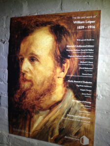 Leiper exhibition poster