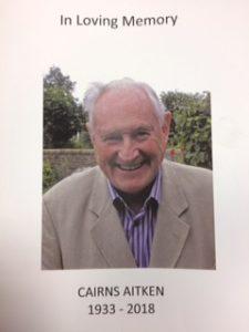 Cairns Aitken Funeral Booklet